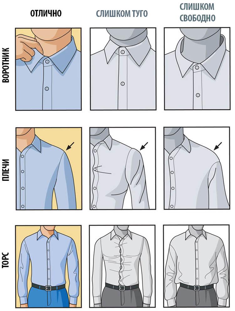 подбираем рубашку