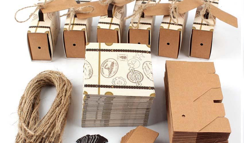 Печать картонных ярлыков, бирок