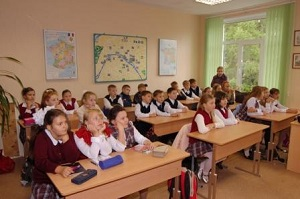 Школы общеобразовательные у станции метро Багратионовская