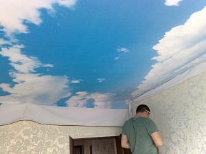 Потолки натяжные в Москве